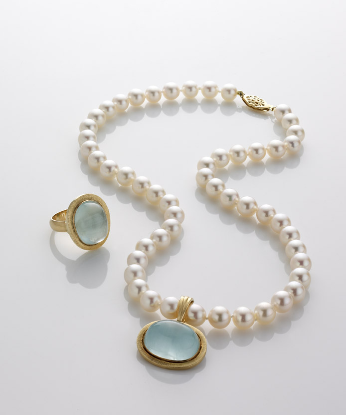 Pearl Necklace & Ring
